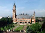 The International Court of Justice is located at the Peace Palace, The Hague