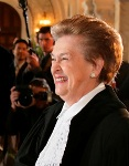 President of the International Court of Justice, Judge Rosalyn Higgins (photo courtesy of the ICJ)