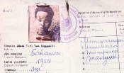A 'Tutsi' ID card in Rwanda at the time of the genocide (click to enlarge)