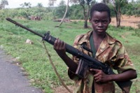 The RUF forces used brutal tactics to seize and maintain control over Sierra Leone's diamond mines, including extensive use of child soldiers and sexual enslavement.